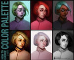 Color palette by Tsvetka