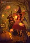 Spirits of Halloween by Tsvetka