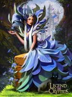 Blue Lily Witch Senage_reg by Tsvetka