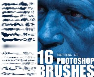 Brush set_Trditional art look by Tsvetka