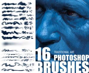 Brush set_Trditional art look