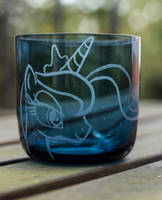 Princess Luna Glass by rtry