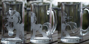 The living Tombstone Galacon glass