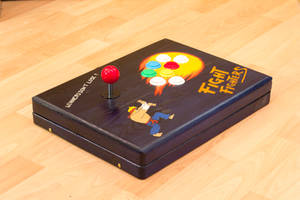 Gravity Falls themed Arcade Controller by rtry