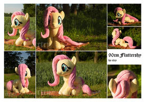 90cm (almost) lifesize Fluttershy by rtry