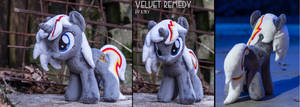 Fallout Equestria - Velvet Remedy Plush by rtry