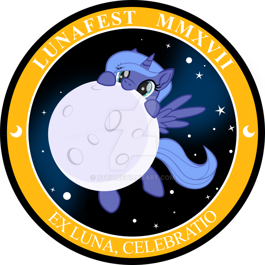 Lunafest 2017 Badge by rtry