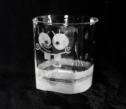 Spongebob Squarepants Whisky glass