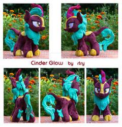 Cinder Glow Kirin Plushie