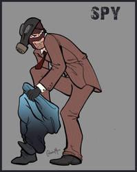 TF2 Spy by Liabra