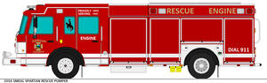 Sheridan County Rescue Engine
