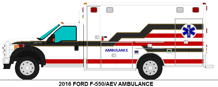 2016 Ford F-550 Ambulance For Sale by 4the343 on DeviantArt