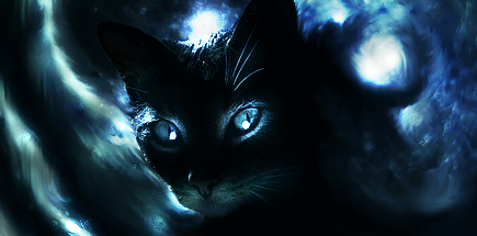 The Dark Cat. by mikeamadeuz on DeviantArt: mikeamadeuz.deviantart.com/art/The-Dark-Cat-173996030