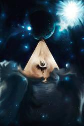 Triangle Eye. by mikeamadeuz