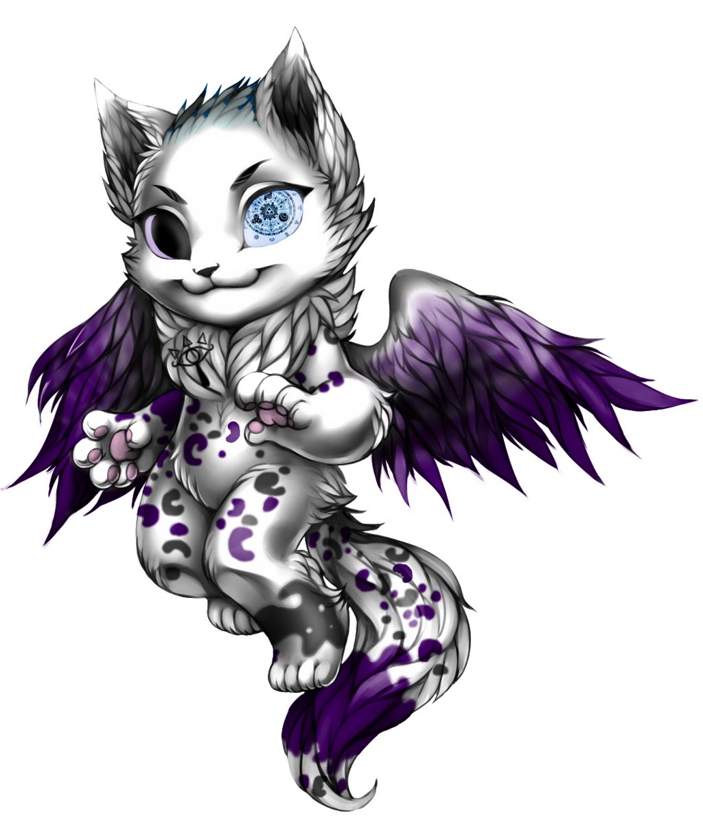 [Free/FA] Galaxy Cat (Leopard) for Kitty.Reaper by TigerLoveHeart