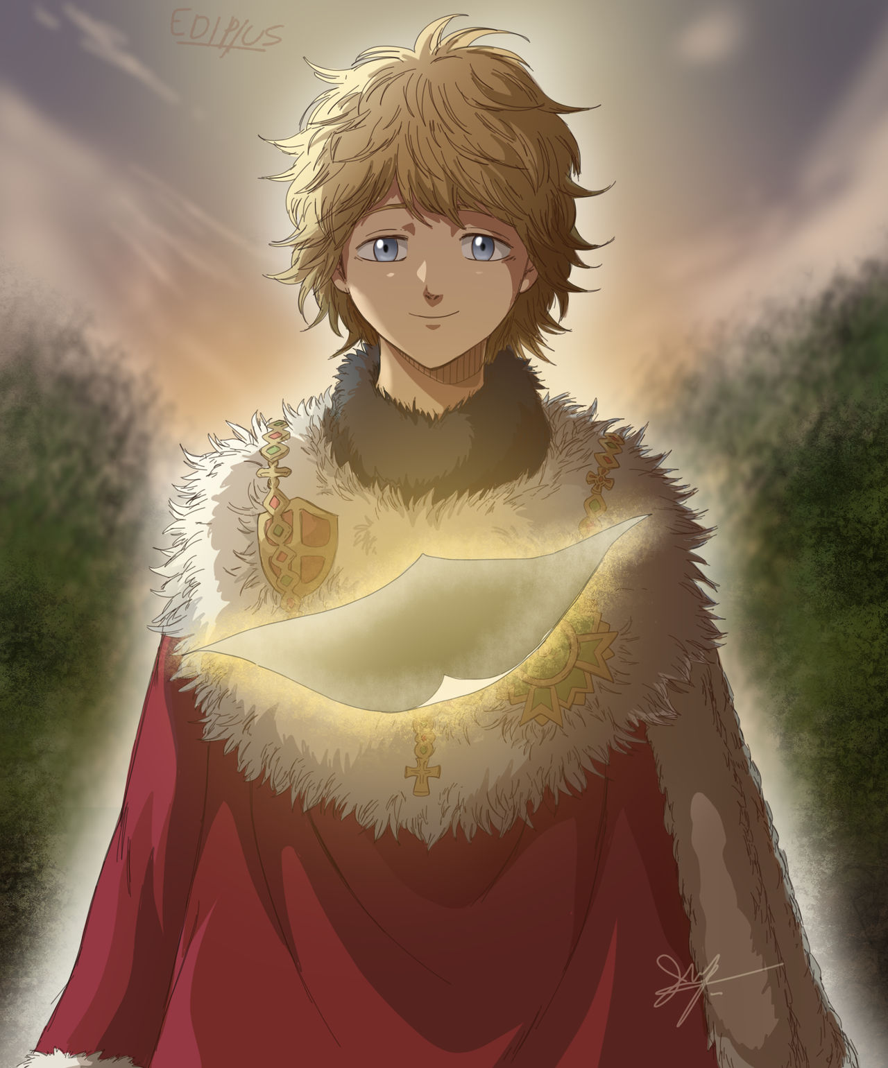 Julius Joven Black Clover Ep 214 By Ediptus On Deviantart