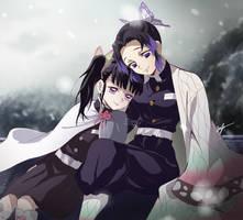 Shinobu y Kanao - Kimetsu no Yaiba