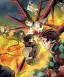 Demon Slayers vs Muzan - Kimetsu no Yaiba 139