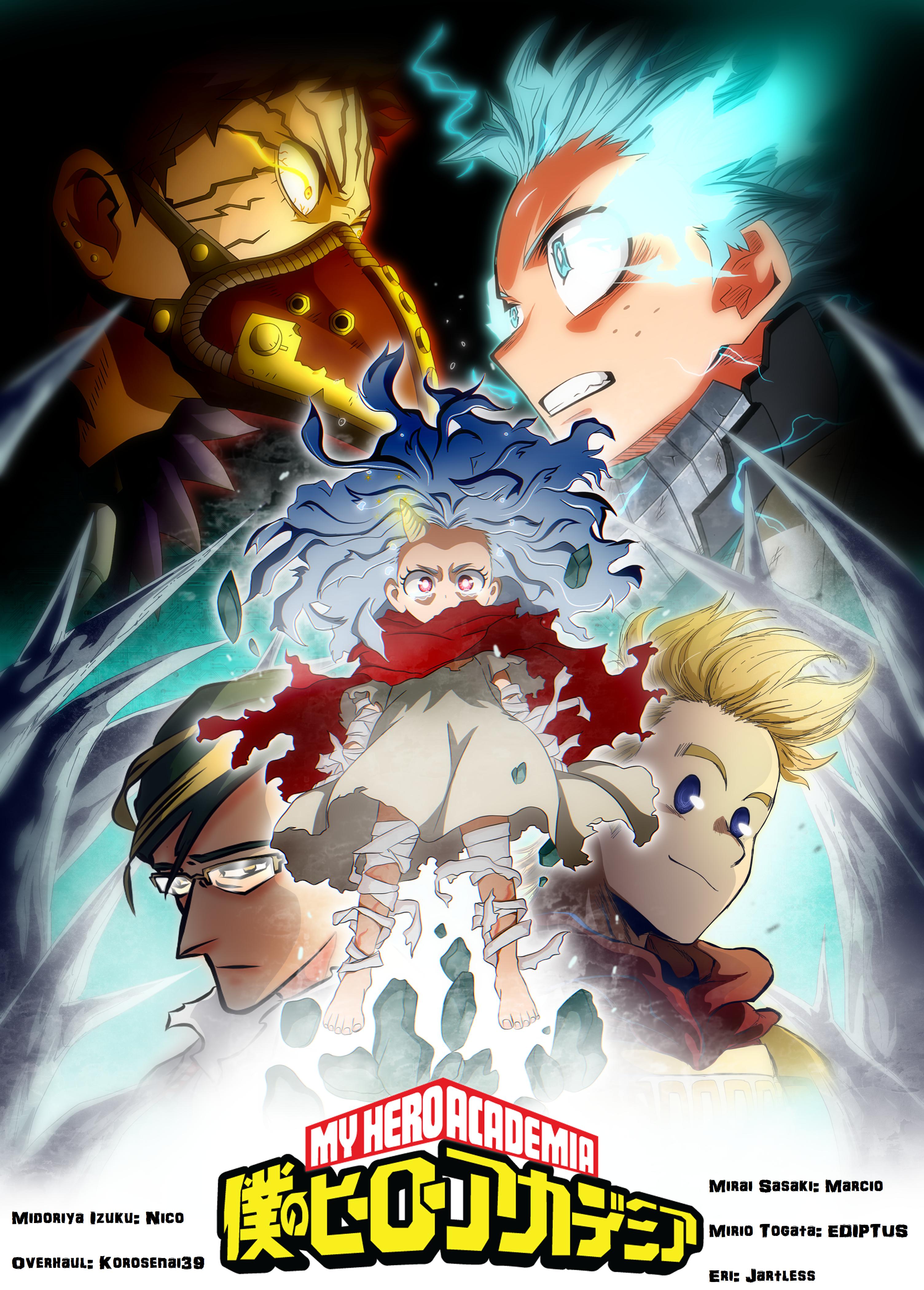 Collab Boku no Hero Academia Season 4 by EDIPTUS on DeviantArt