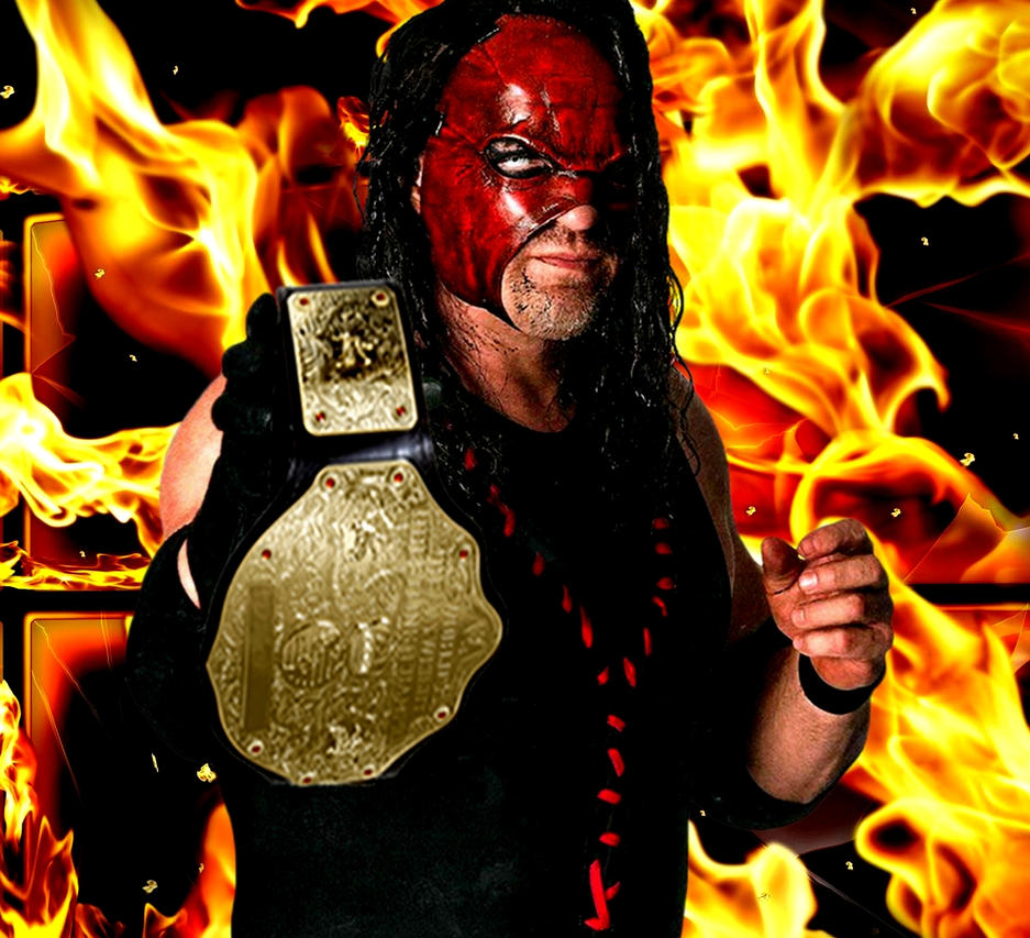 Kane as The World Heavyweight - 154.8KB