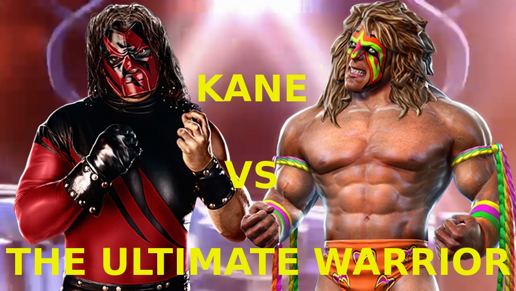 Kane vs Ultimate Warrior by KaneTakerfan701 on DeviantArt