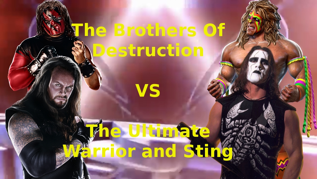 Kane and Undertaker vs Warrior and Sting by ...