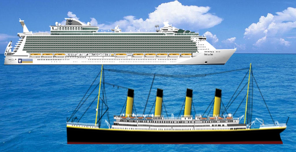 Oasis Of The Seas Titanic Www Pixshark Com Images