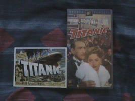 Titanic VHS Video