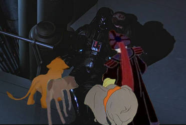 The Trio's Last Moments with Vader by KaneTakerfan701