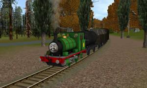 Percy Leaving Hackenbeck
