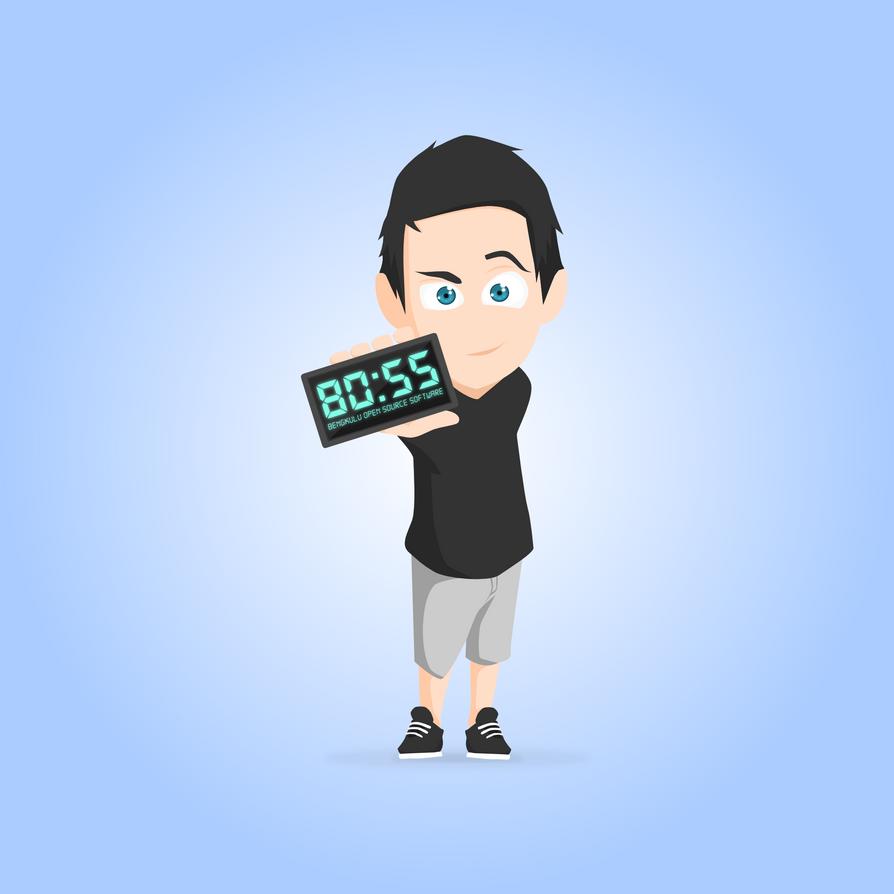 boss bengkulu open source software avatar by sira lightness on