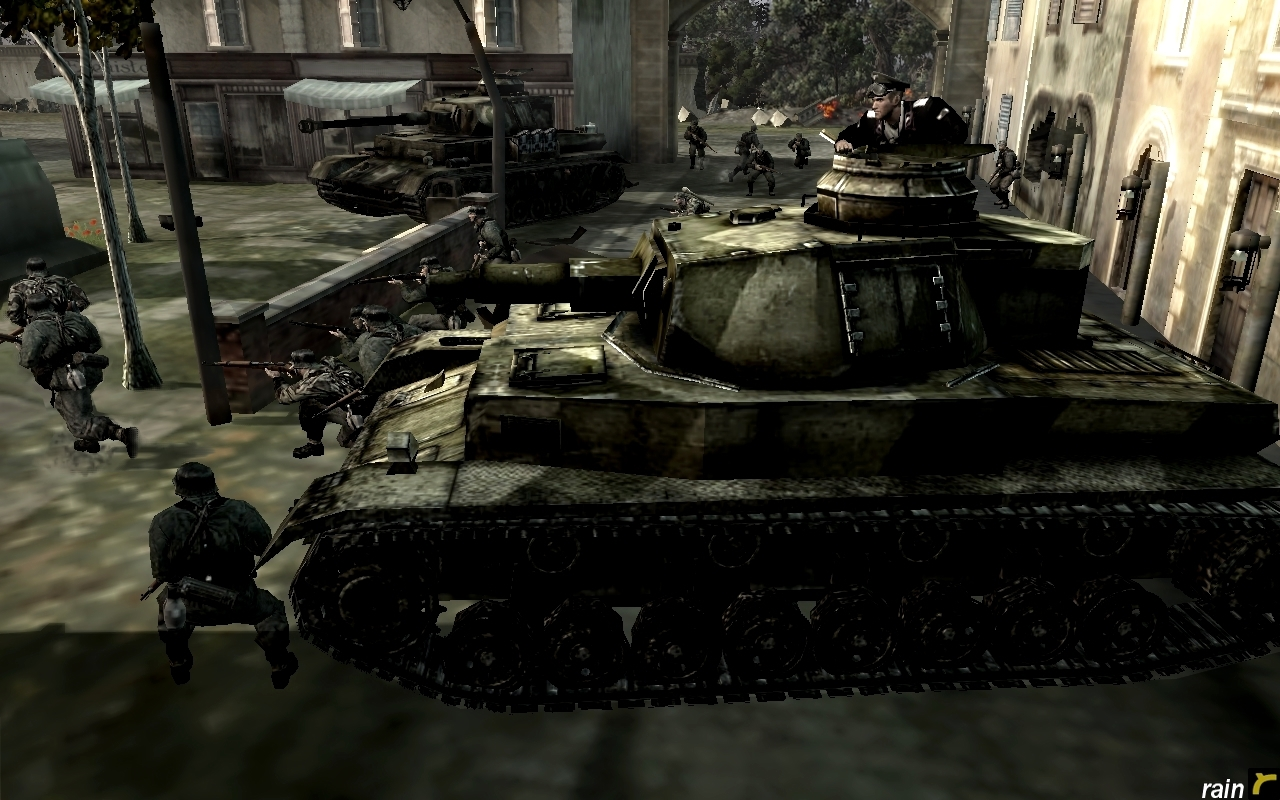 Panzer IV- Rattenkrieg (Rat War) by rainamechan