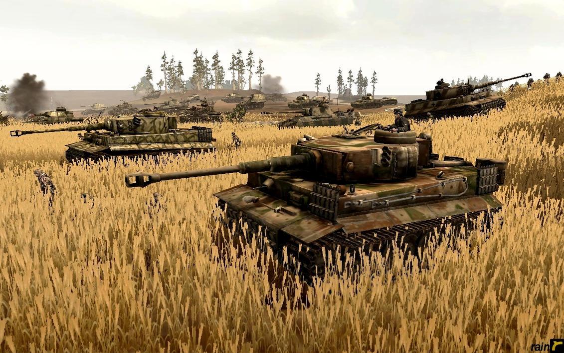 Schwere SS-Panzer-Abteilung 101 by rainamechan
