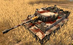 Pzkpfw VI Tiger SS Totenkopf