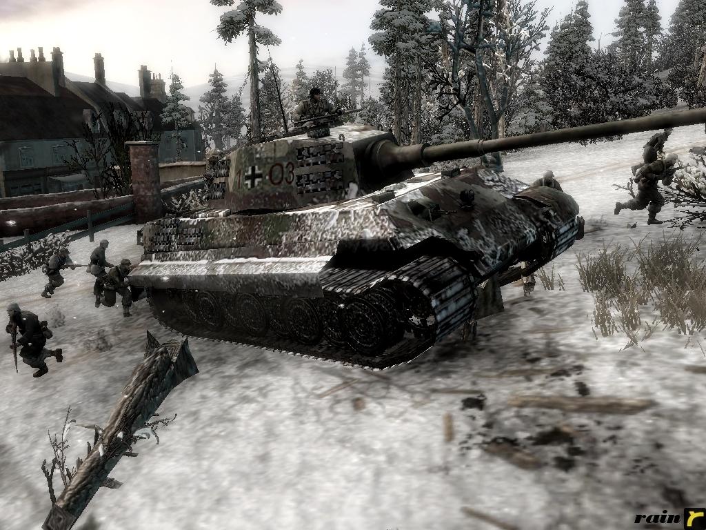 7th Armee KingTiger 103 by rainamechan