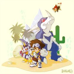 Digimon Adventure V-Tamer 01 - Journey chapter! by Barlu
