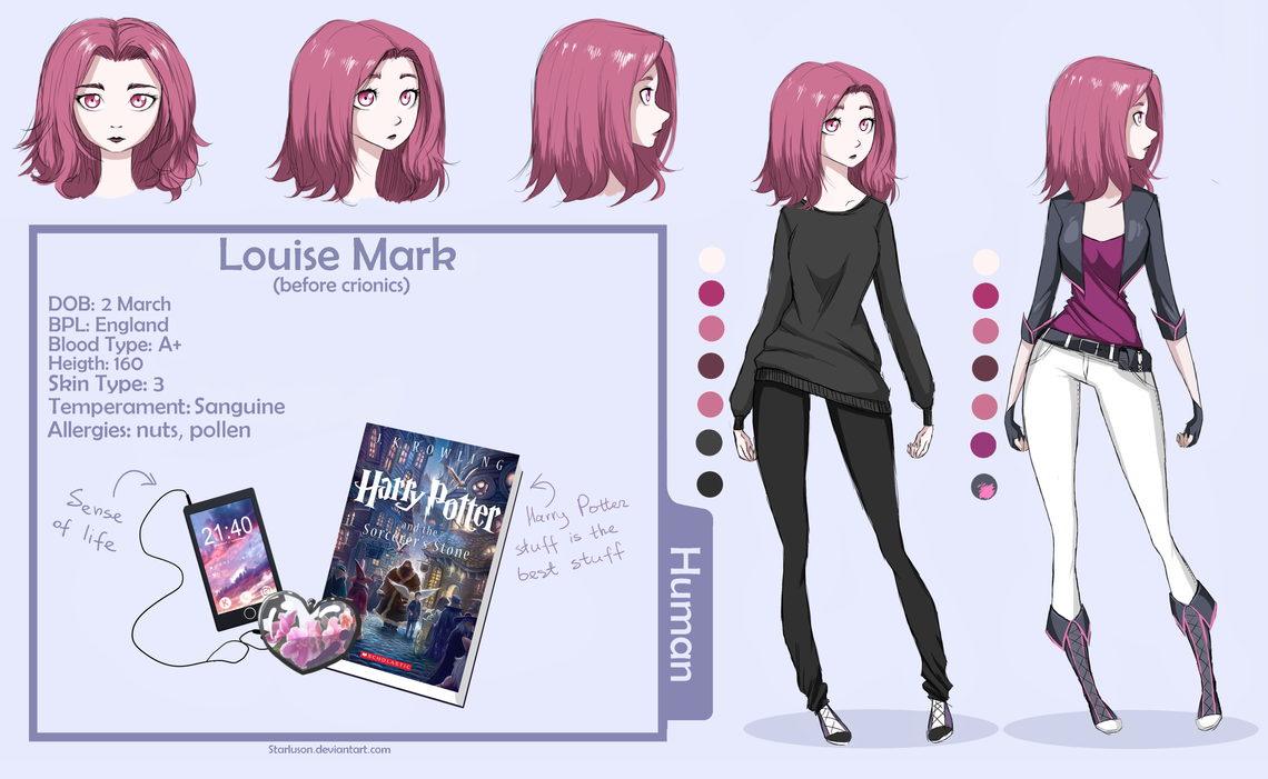 Louise Mark (OC3) by Starluson