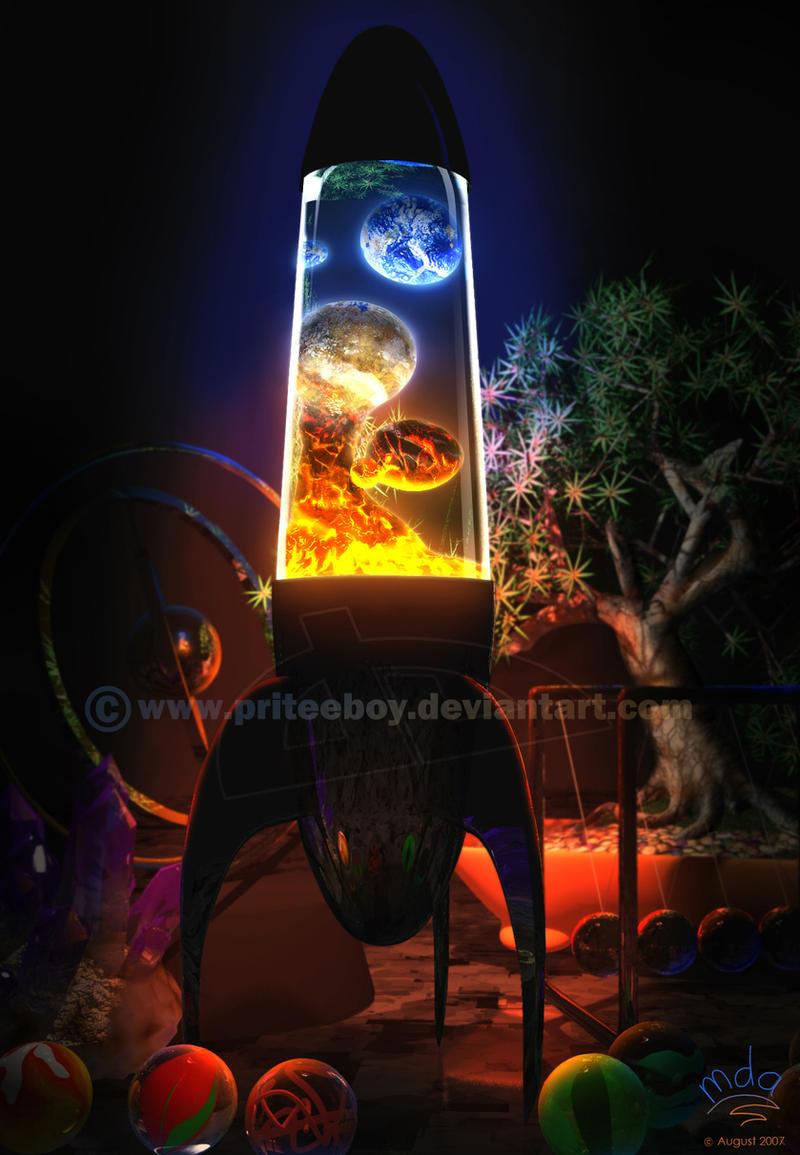 Genius of the Lamp by priteeboy