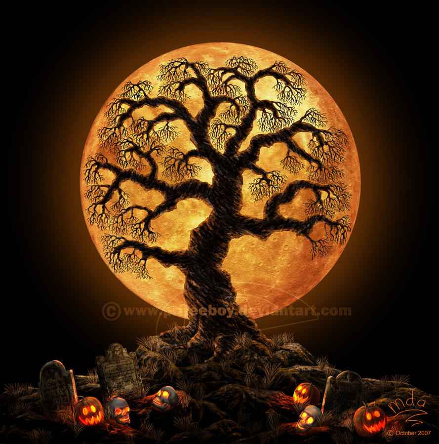 Trick or Tree by priteeboy