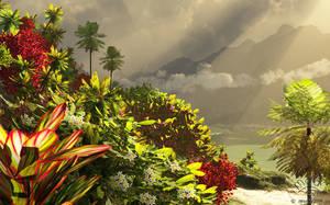 Paradise valley by Chromattix