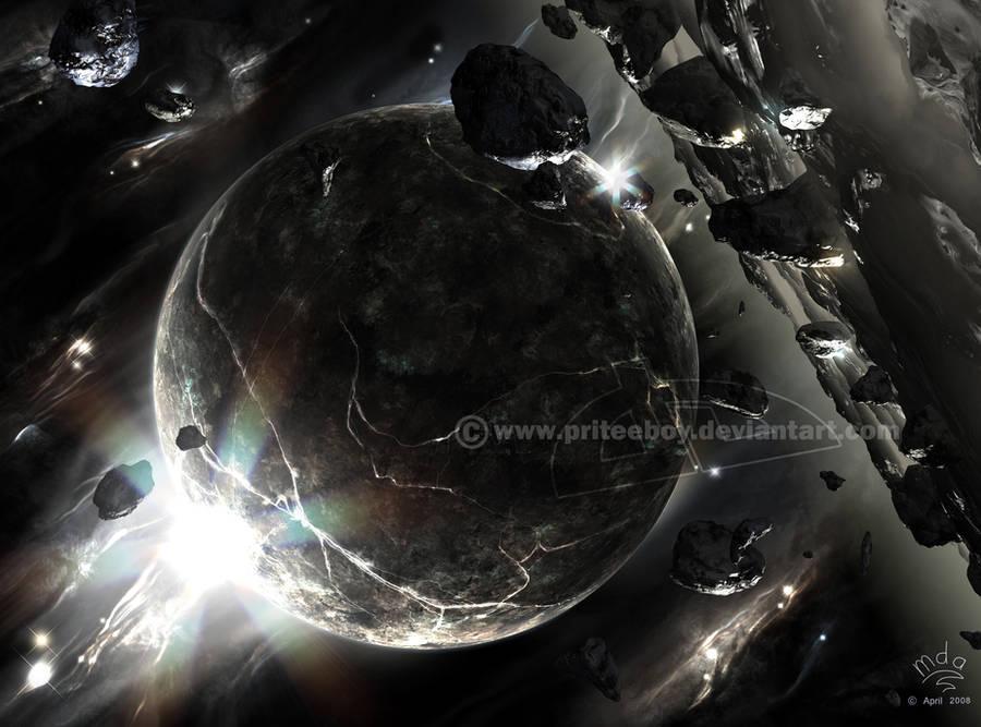 Obsidian Ore by Chromattix