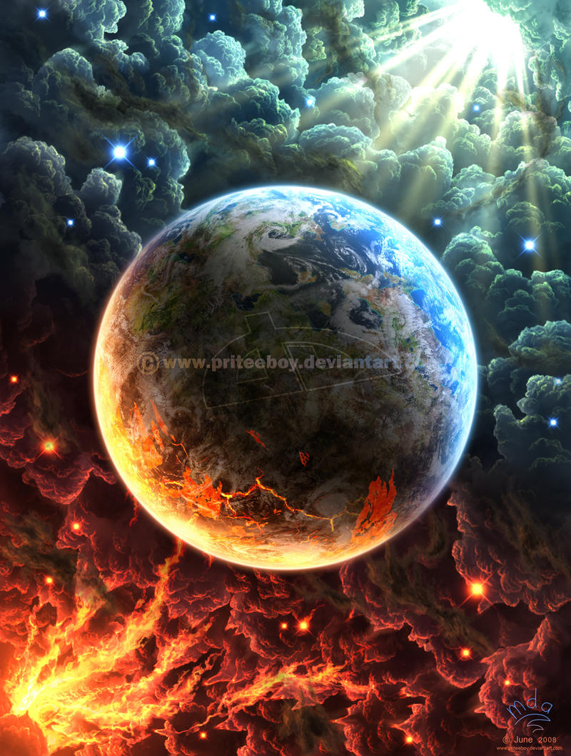 Golden gates of Hell by Chromattix