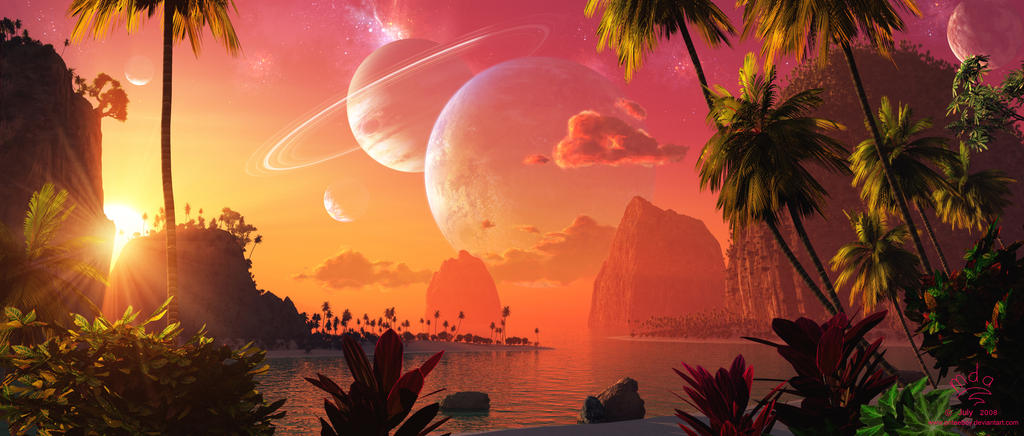 Wish you were here by Chromattix