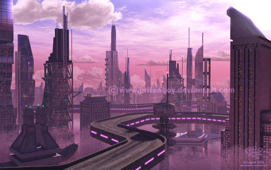 Mute City by priteeboy