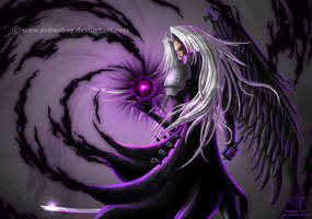 In the shadow of Sephiroth by Chromattix