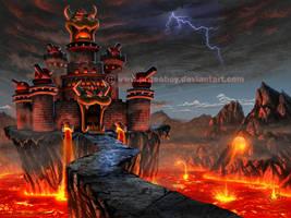 Bowser's Castle by Chromattix