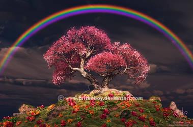 Blossoming Bonsai by Chromattix