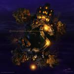 Banshee Bridge galaxy by Chromattix