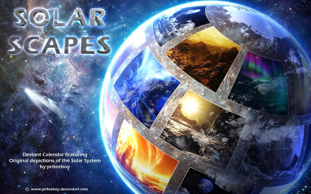 Solar Scapes - 2018 calendar