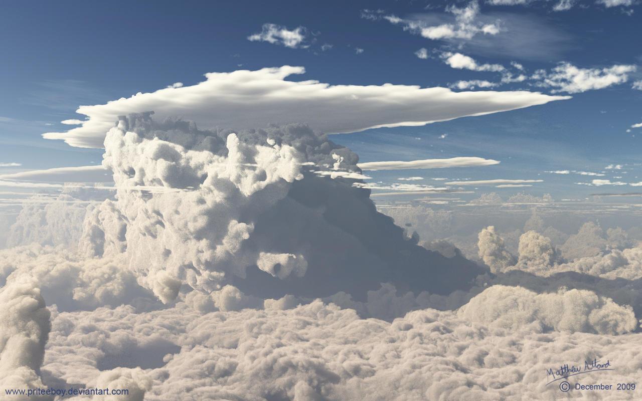 Vue clouds test2 by priteeboy